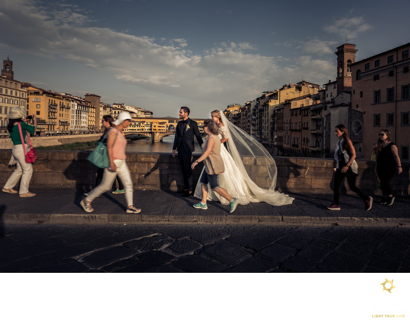Destination Wedding in Tuscany, Florence, Italy
