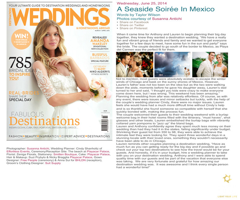 fabulous destinations wedding