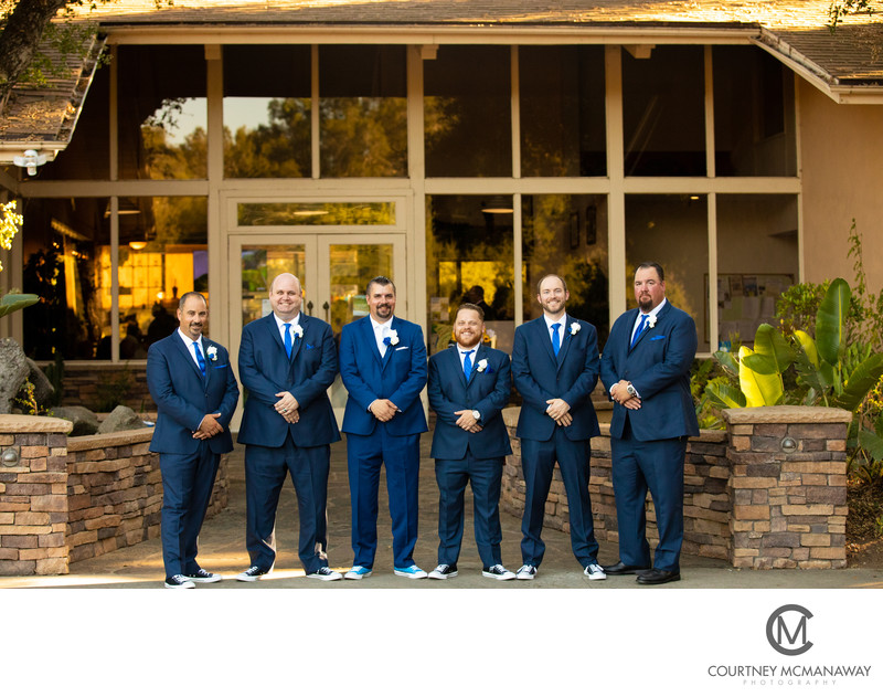 Escondido Wedding Day Groomsmen