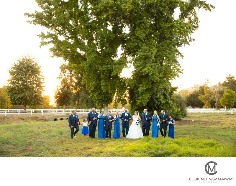 Escondido Wedding Bridal Party