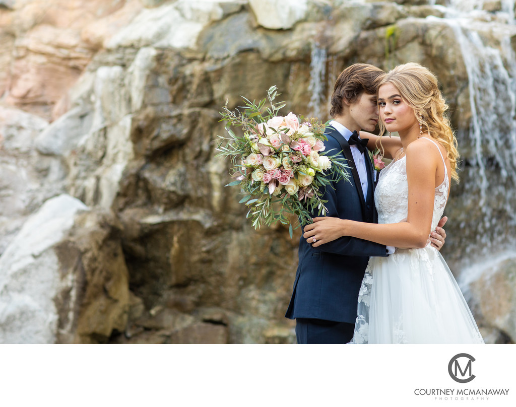 Glen Ivy Golf Club Wedding Portraits
