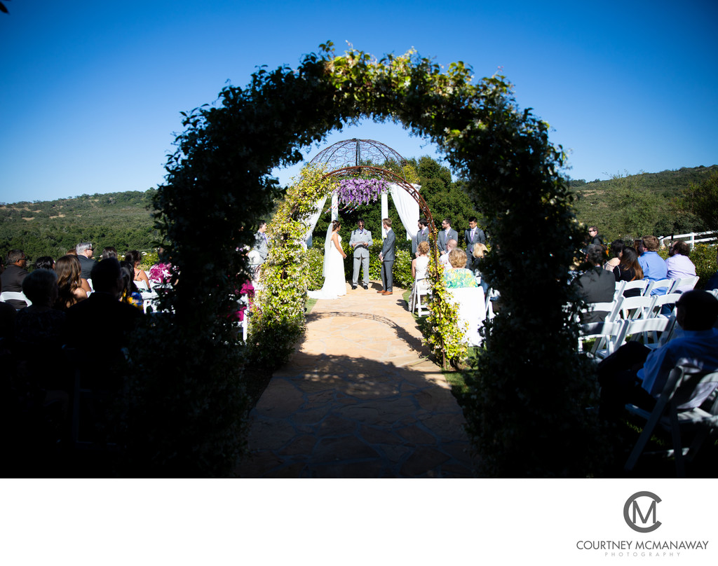 Forever and Always Farm Outdoor Wedding Ceremony