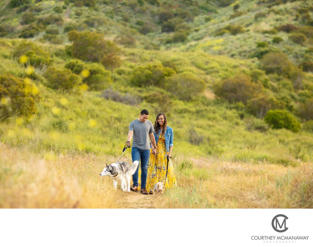 Outdoor Temecula Engagement Session