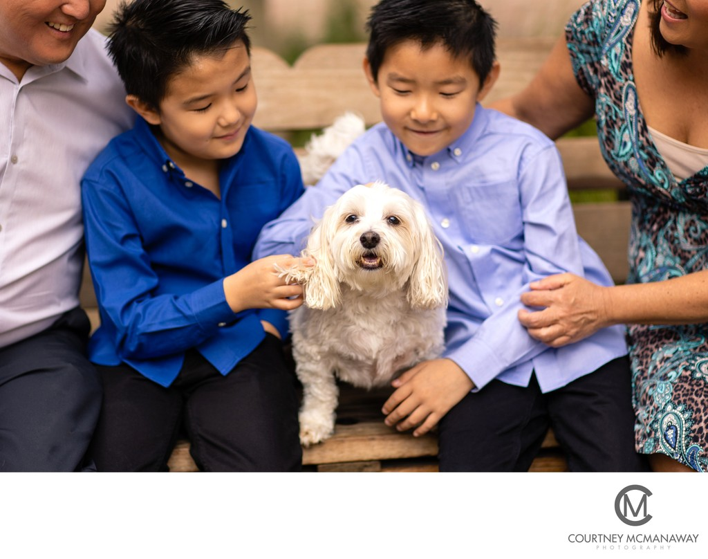 Tips for Bringing Your Pet to a Family Session
