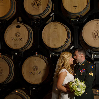 Wiens Winery Wedding  Reception