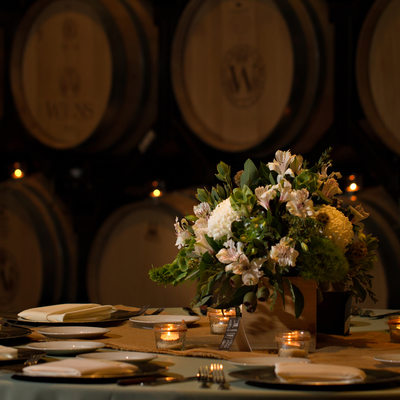 Wedding Photographer Wiens Winery
