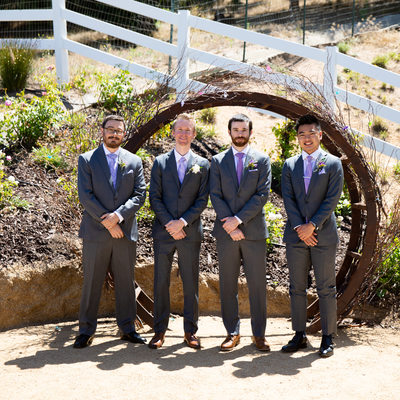 Forever and Always Farm Groomsmen