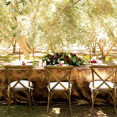 Rustic Wedding Decor Temecula Olive Oil Company