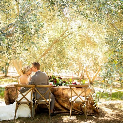 Romantic Wedding Portraits Temecula Olive Oil Company