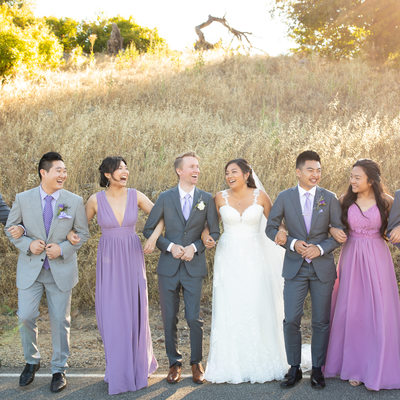 Bridal Party Pictures in Murrieta