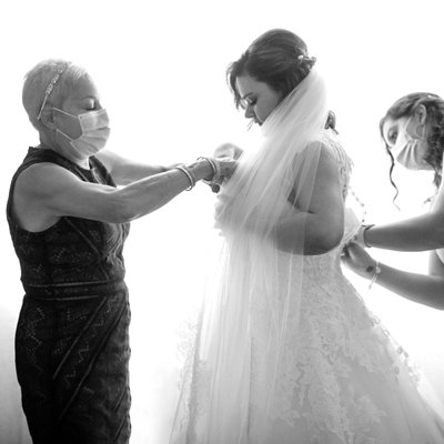 Bridal Prep at a Temecula Micro Wedding