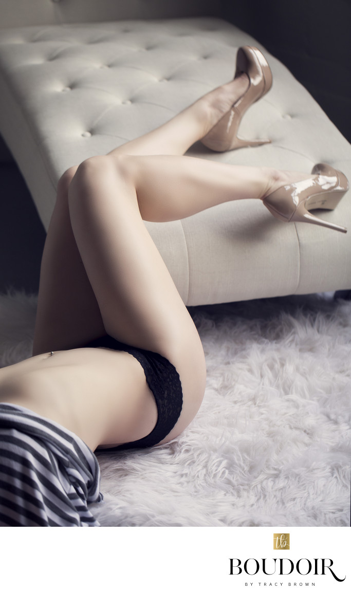 Boudoir photography as art in STL