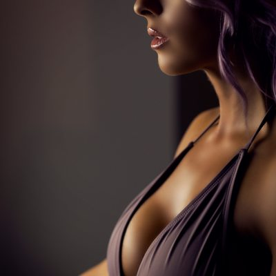 lavendar hair and bodysuit//boudoir by tracy lynn//stl