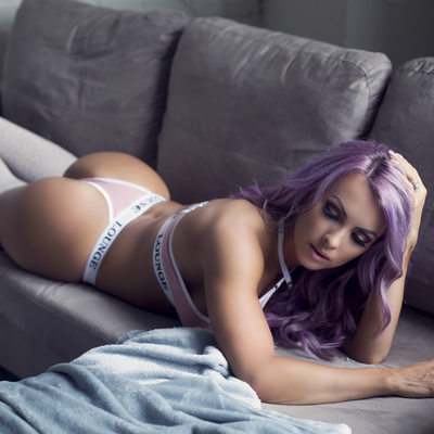 Lounge Underwear in a Boudoir Photoshoot in St. Louis