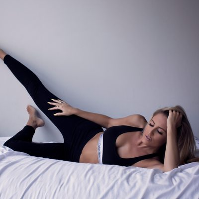 lifestyle boudoir/calvin klein workout clothes/st louis