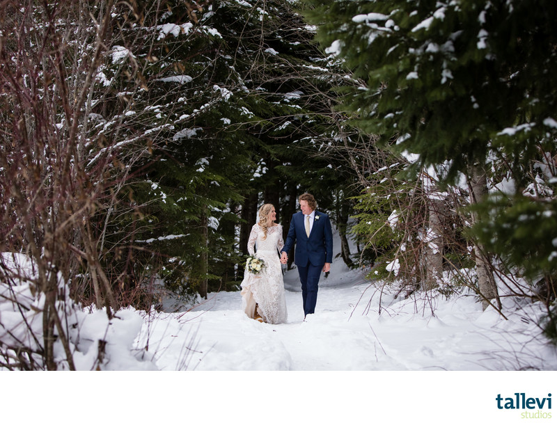 Whistler Winter Elopement Photographer