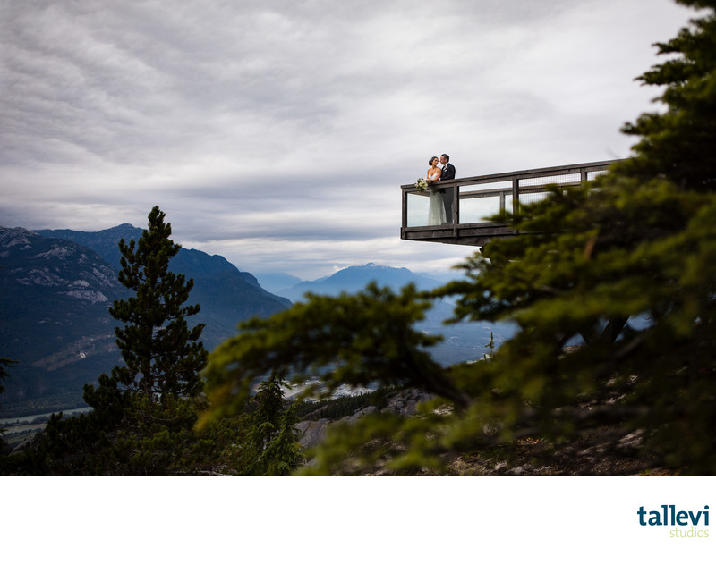 Sea to Sky Gondola Wedding Photographs