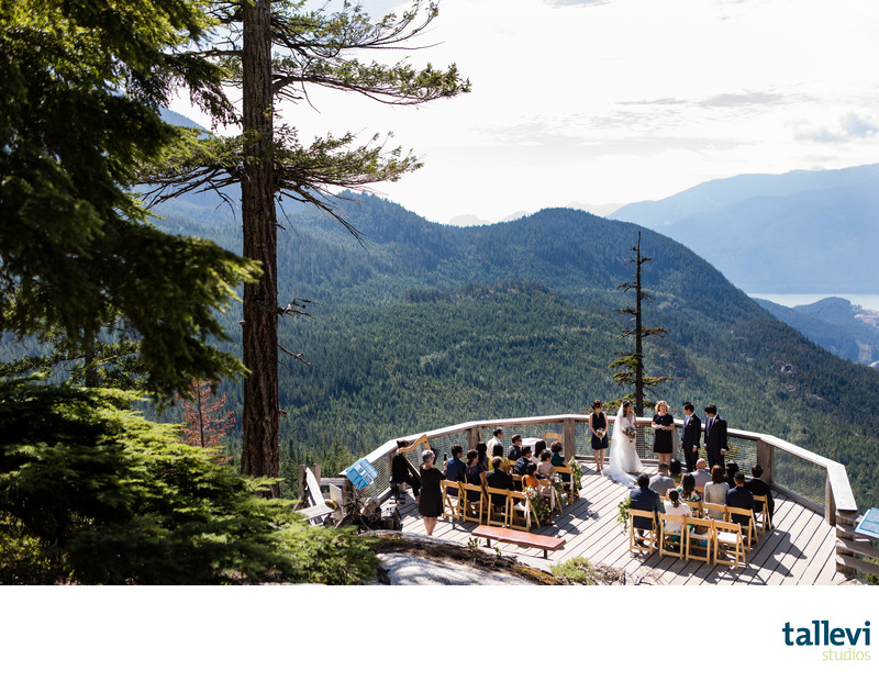 Sea to Sky Gondola Wedding Photographer