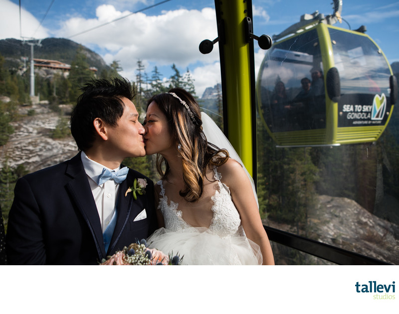 Wedding Photographer for Sea to Sky Gondola