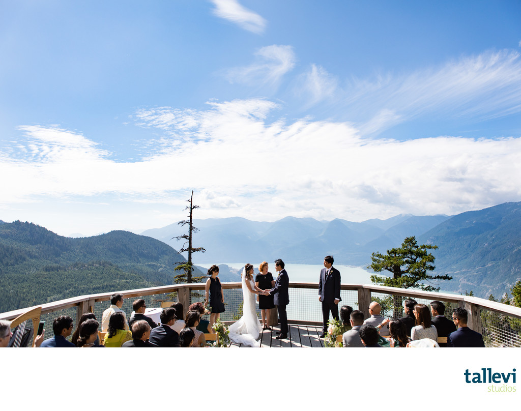 Sea to Sky Gondola Wedding Ceremony