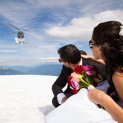 Squamish Helicopter Wedding Photographer