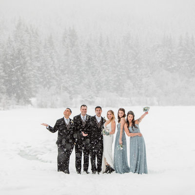 Nita Lake Lodge Wedding Photos