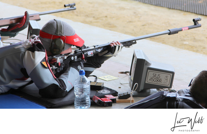 Lee Webb Rifle Shooting Athlete