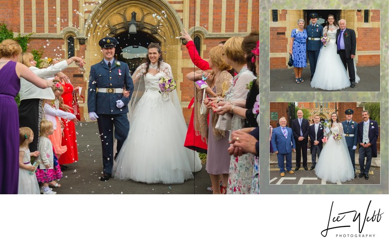 Worcestershire Wedding Photography Album Pages 15 & 16