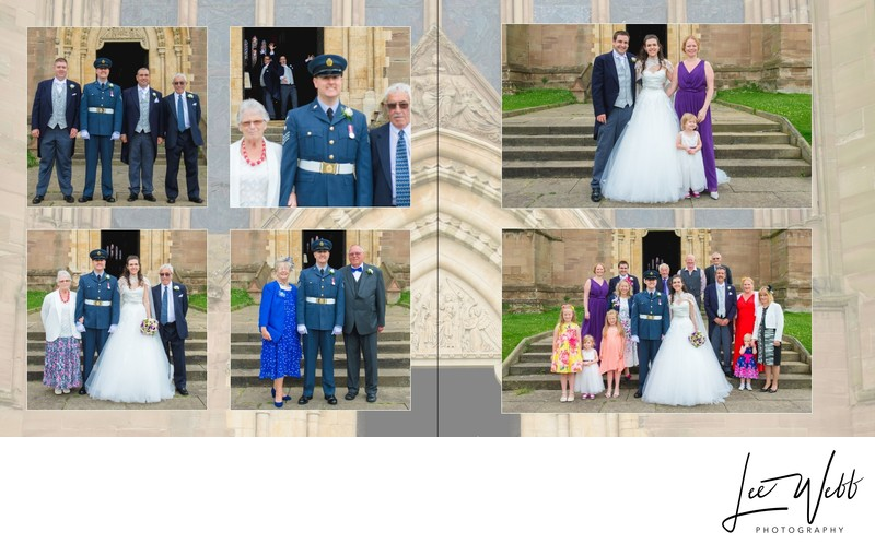 Worcestershire Wedding Photography Album Pages 23 & 24