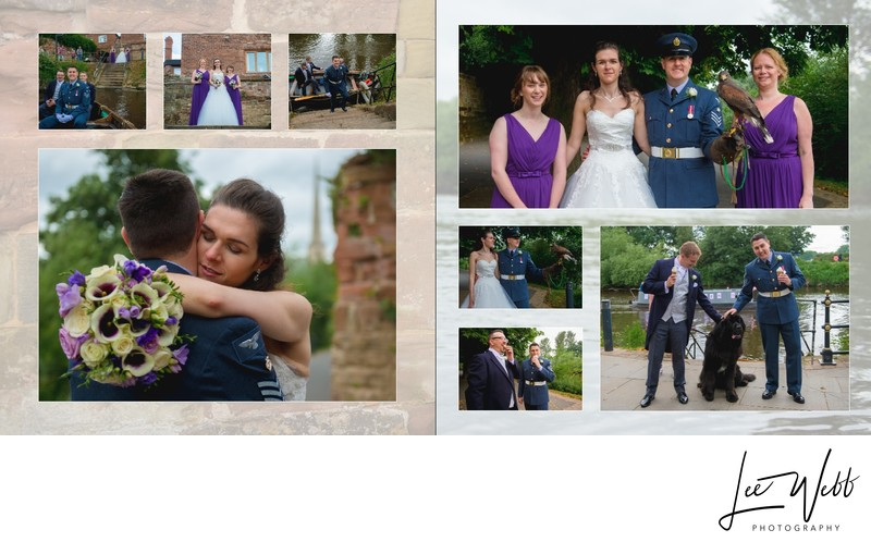 Worcestershire Wedding Photography Album Pages 29 & 30