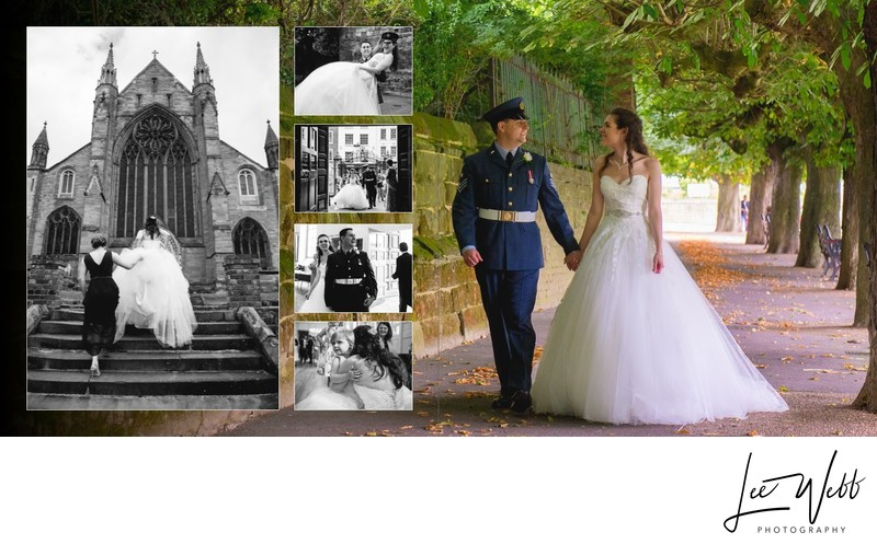 Worcestershire Wedding Photography Album Pages 31 & 32