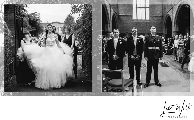 Worcestershire Wedding Photography Album Pages 7 & 8