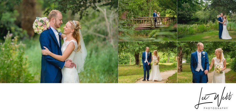 Manor by the Lake Wedding Album Pages 24 & 25