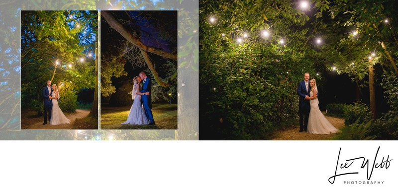 Manor by the Lake Wedding Album Pages 32 & 33