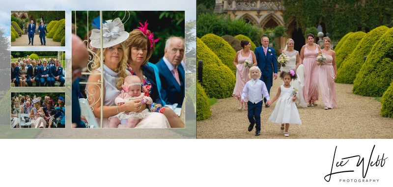 Manor by the Lake Wedding Album Pages 10 & 11