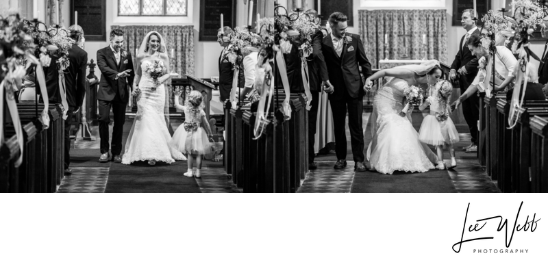 Birtsmorton Court wedding album 15 & 16