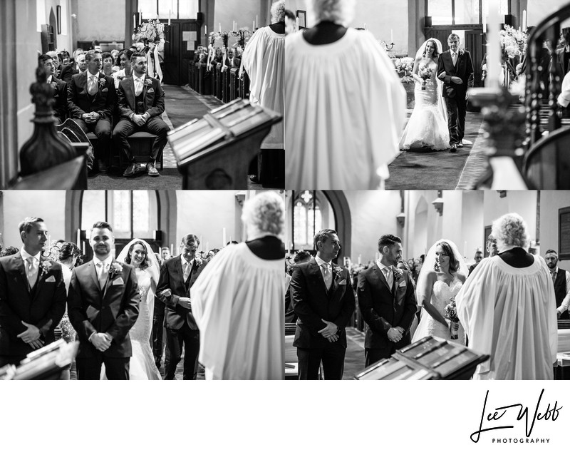 Birtsmorton Court Church Wedding Album
