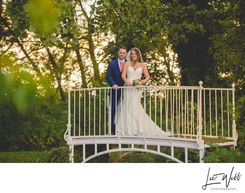 Sunset Birtsmorton Court Wedding Photographer Worcester