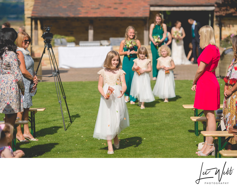 Flower Girls at Deer Park Hall