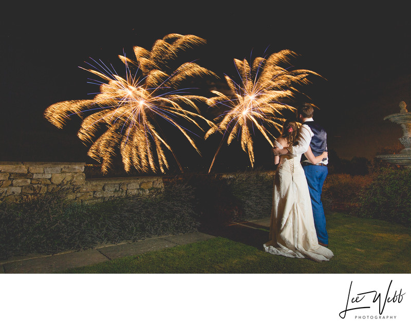 Worcester Wedding Fireworks