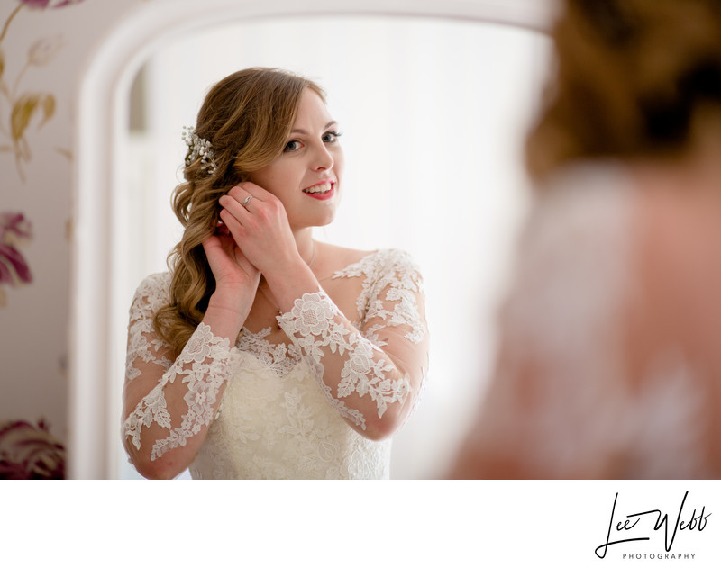 Bride preparation wedding photography