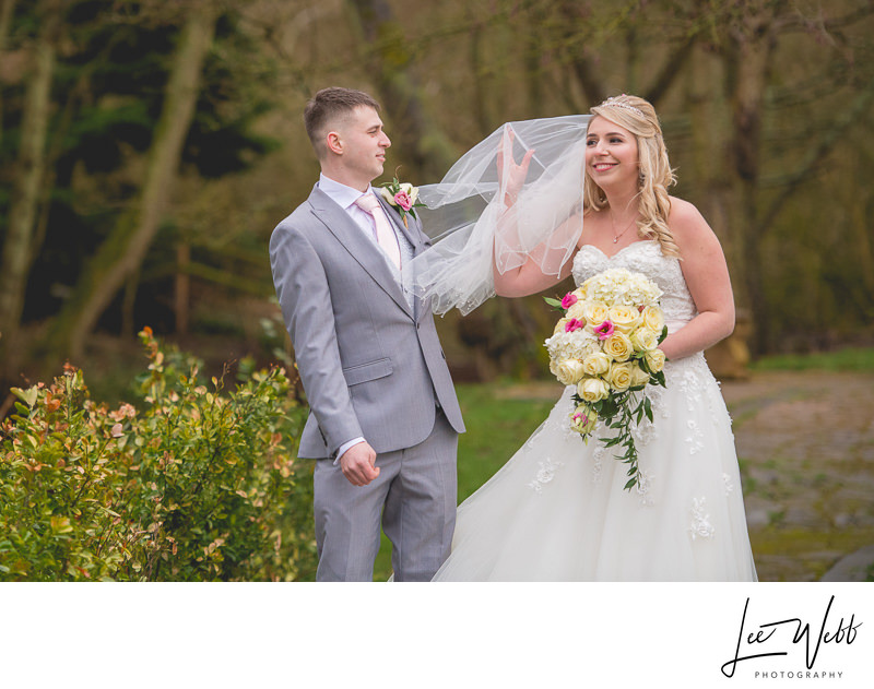 Winter Weddings at the Mill Barns