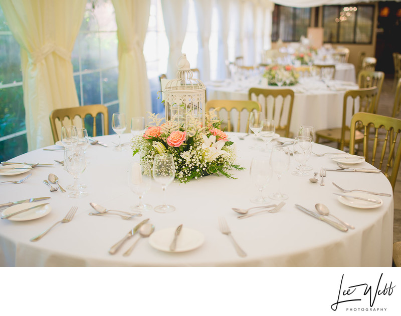 Birtsmorton Court Wedding Decor
