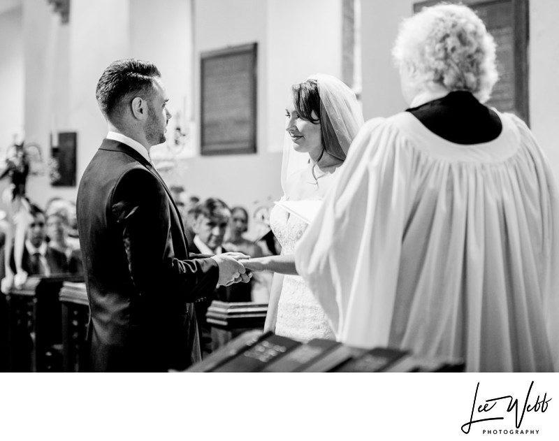 Birtsmorton Court Church Wedding