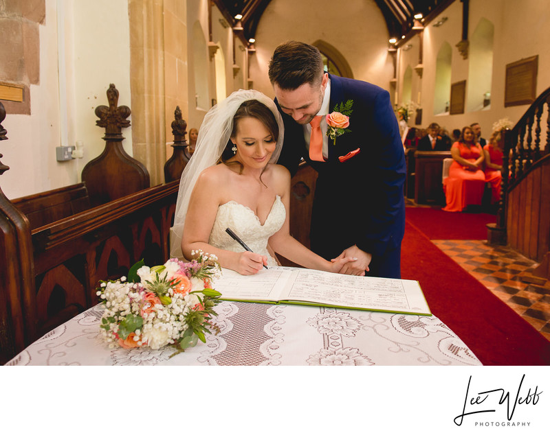 Church Weddings at Birtsmorton