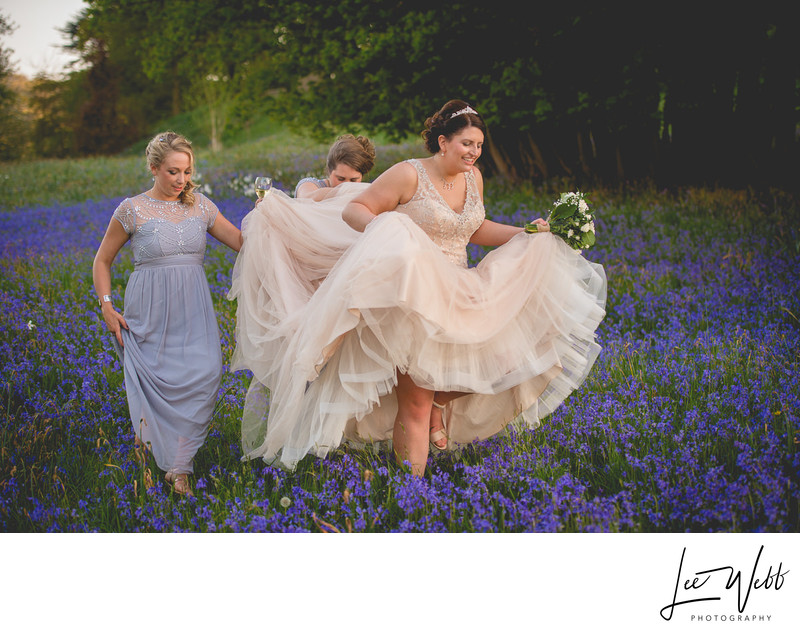 Bluebell Dumbleton Hall Wedding Venue Worcestershire