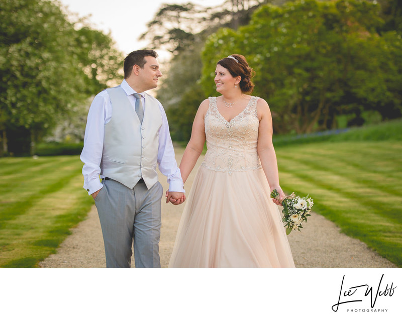 Bride Groom Dumbleton Hall Wedding  Worcestershire