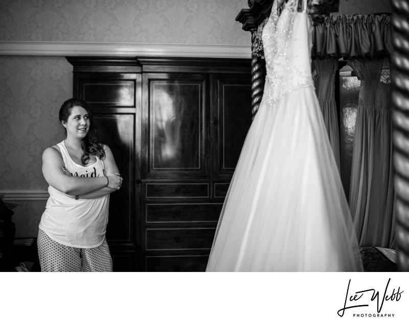 Dumbleton Hall Wedding Dress