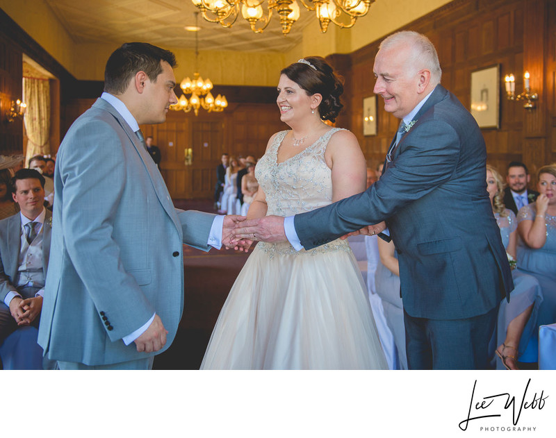 Recommended Photographer Dumbleton Hall