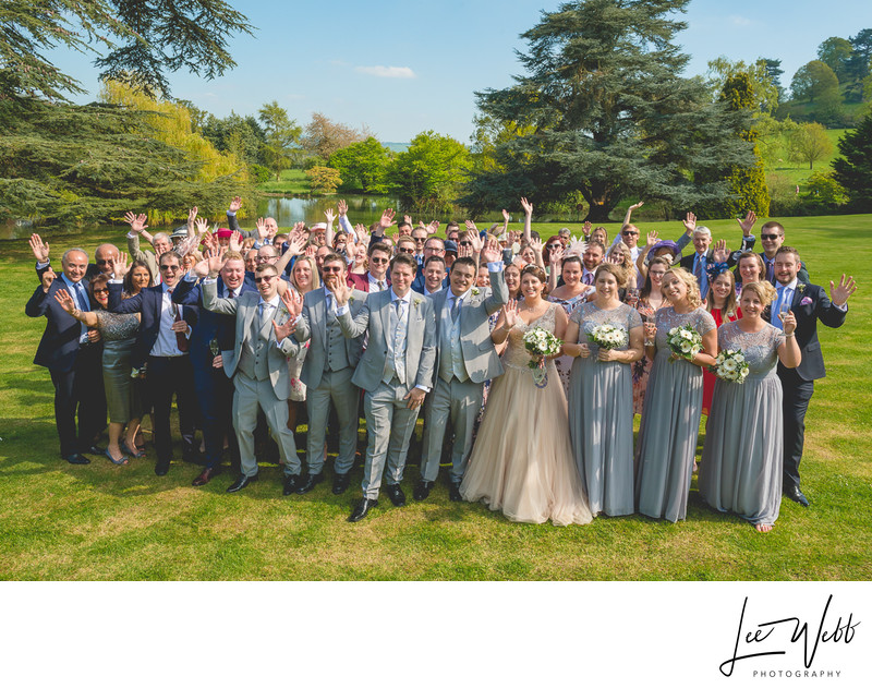 Group Photo at Dumbleton Hall